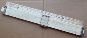 Keuffel-amp-Esser-Duplex-slide-rule-in-case-4070-3-working-well-with-wear