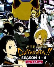 Durarara!! Ketsu (Season 1-4) DVD (Eps : 1 to 61 end) with English Subtitle