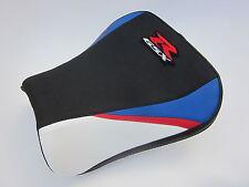 S52 Suzuki GSXR 600 750 - K4 K5 seat cover Red/White/Blue- FRONT