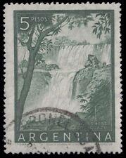 """ARGENTINA 639a (Mi628i) - Iguacu Waterfalls """"Perf 13.5 x 13.5"""" (pa69025)"""