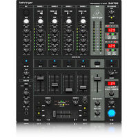 Behringer Djx-750 5-channel Dj Mixer W/ Advanced Digital Effects Bpm Counter