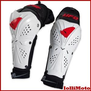 Gomitiera-Professional-Evo-Bianco-Elbow-Guards-Ufo-GO02347-S-M-cross-enduro