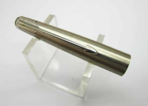 Parker  Systemark Floating Roller Ball Pen Cap PARTS in Steel NOS,USA AR 481