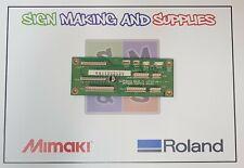 Genuine Roland Soljet Pro Ii Sc545 Ex Motor Sensor Junction Board W811502120