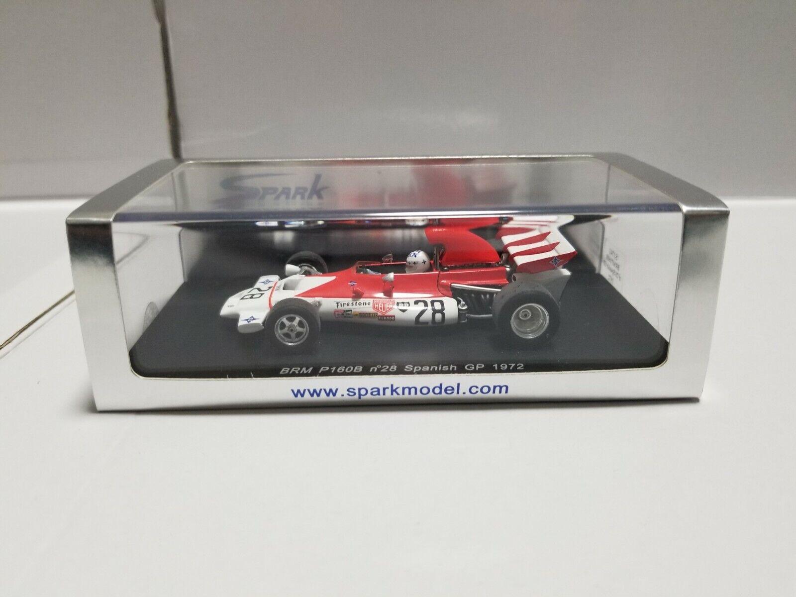 Spark BRM P160B español Grand Prix 1972 S1741 1 43