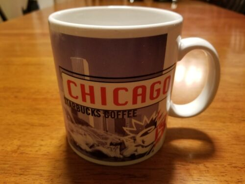 Starbucks Chicago City Collectors Series Coffee Mug 1999 20oz