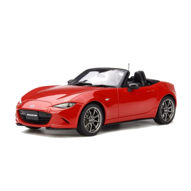 MAZDA ROADSTER S in pelle pacchetto CLASSIC ROSSO 1:18 scala Kyosho
