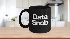 Data Scientist Mug Black Coffee Cup Funny Gift for Analyst Programmer Engineer