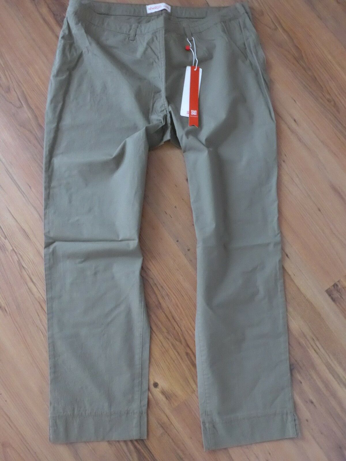 Sheego Cloth Trousers 7 8 Trousers Size 40 - 58 Ankle Trousers Khaki (024) NEW