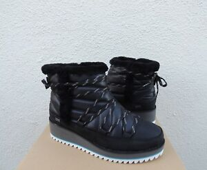71c45f32cba Details about UGG CAYDEN BLACK WATERPROOF SUEDE/ NYLON WINTER BOOTS, US 7/  EUR 38 ~NIB