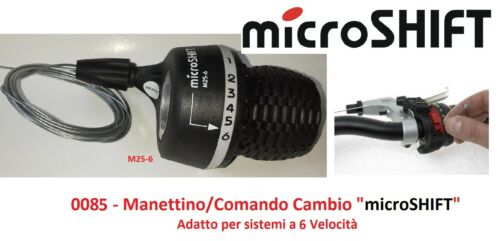 "Manettino//Command Switch DX /""microSHIFT/"" 6 Speed Bicycle 20-24-26 graziella"