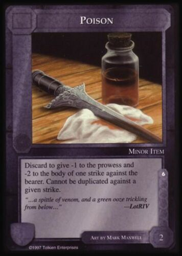 MECCG CCG Middle-earth Poison The Lidless Eye LE MINT