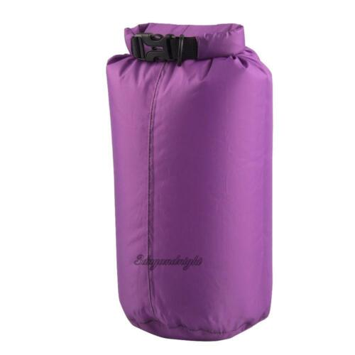 8L Outdoor Waterproof Canoe Swimming Camping Backpack Dry Bag Pouch Roll-top Bag