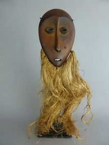 Analytique Jolie Masquette Africaine Decorative Rdc Tribu Lega Mask Art African Art Congo Emballage De Marque NomméE