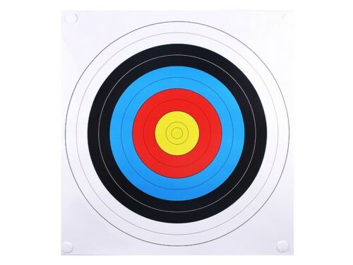 10 x 60cm PRO TARGETS FACES 4 ARCHERY & CROSSBOW