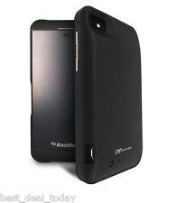 Mugen Power Extended Life Battery Extender Pack 3000mAh For Blackberry Z10 Black