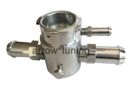 Aluminum Filler Neck With Cap Radiator Charge Cooler Header Overflow Water Tank