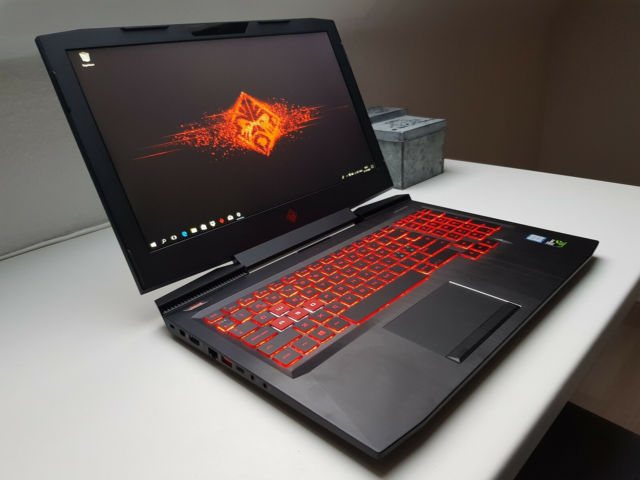 HP OMEN, Intel i5 7300HQ GHz, 8 GB ram, SSD 256 GB…