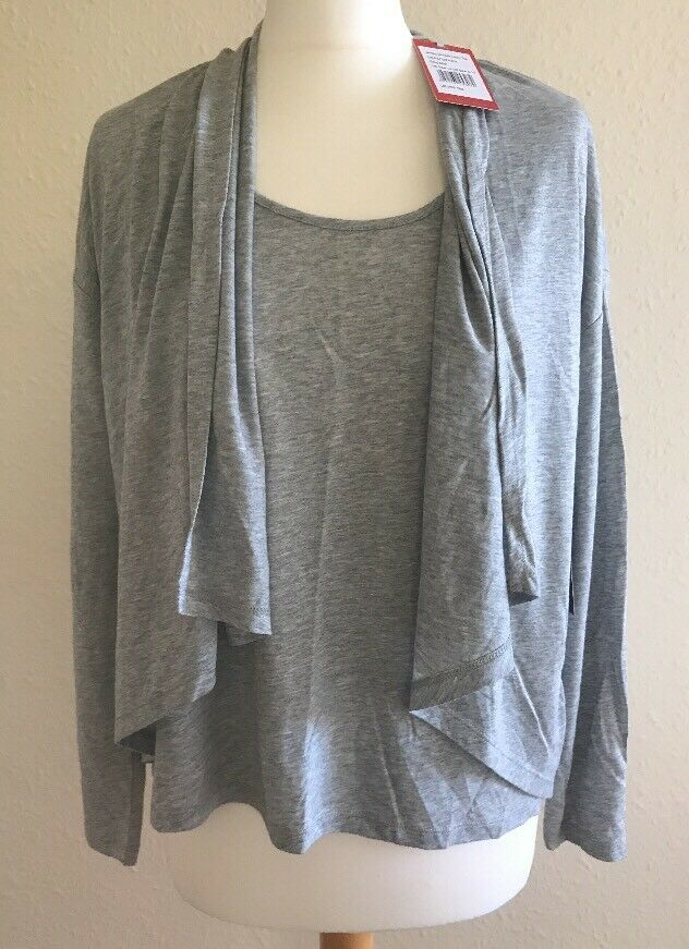 Pure Collection Jersey Double Layer Top Size 14 RRP