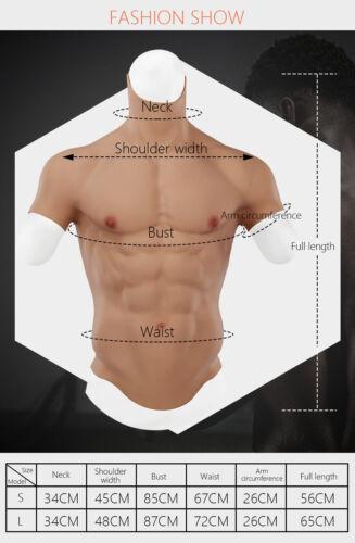 IMI Fake Chest Muscle Silicone Vest Enhancer Crossdresser Simulation Transgender