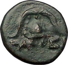 DEMETRIOS I Poliorketes MACEDONIA King Shield Helmet Ancient Greek Coin i57664