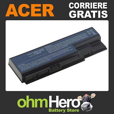 Batteria POTENZIATA 5200mAh per Acer Aspire 6930G, 6935G, 7540G, 7720G, 7736ZG,