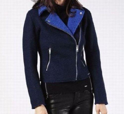 Diesel M-VENUSTA 900 Size Large Navy Blue Summer jacket