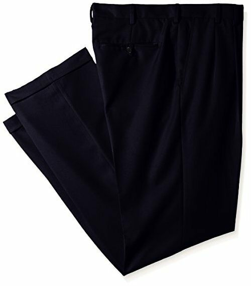 IZOD Men's Big and Tall Double Pleated Solid Twill Pant - Choose SZ/Color