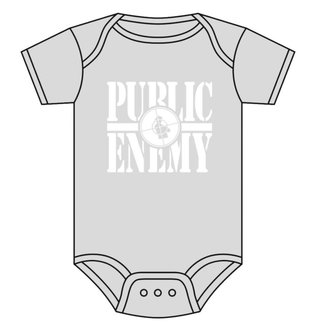 Ages 0-18 Months Beastie Boys Logo Official Baby Grow Romper Black