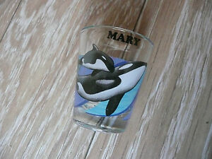 Shot Glass  Sea World  MARY  NEW - <span itemprop='availableAtOrFrom'>Milton Keynes, Buckinghamshire, United Kingdom</span> - Shot Glass  Sea World  MARY  NEW - Milton Keynes, Buckinghamshire, United Kingdom