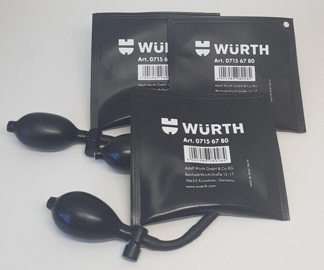 3x Würth Amo Bag Luftkissen Spreizkissen Montagekissen Fenster Türen 07156780