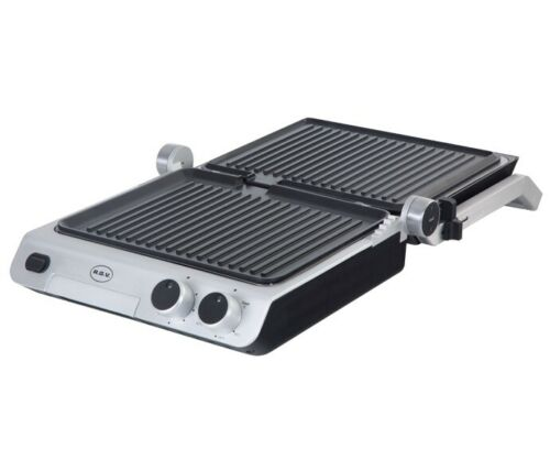 Bistecchiera elettrica RGV Industrial Grill Contact piastra antiaderente Rotex