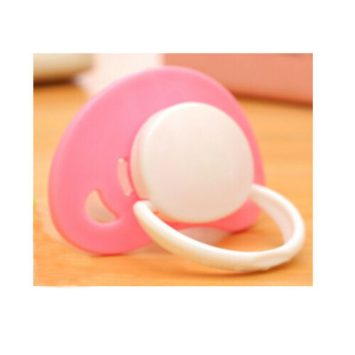Newborn Kids Baby Orthodontic Dummy Pacifier Silicone Teat Nipple Soother Hot J