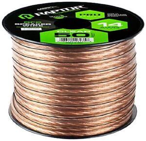 50-Feet-Speaker-Wire-Oxygen-Free-Copper-14-AWG-Pro-Series-Raptor-R514-50