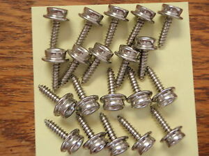 "CANVAS COVER DOT FASTENERS STUD DOT 3 IS 1/"" LENTH SCREW STAINLESS 20 PAC SCREWS"