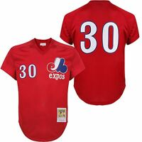 1989 Montreal Expos Tim Raines Red Mitchell & Ness Bp Jersey 3xl