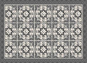 Tappetino Geometrico In Vinile Per Arredare Più Spazi Con Effetto Maioliche