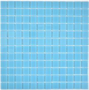 Glasmosaik-hellblau-Fliesenspiegel-Dusche-Kueche-Wand-Bad-WC-63-0402-10-Matten