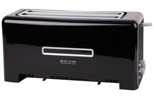 Auftau- Bräunungsgrad zwei Langschlitze Aufwärm- Toaster MD 15709,1.400 Watt