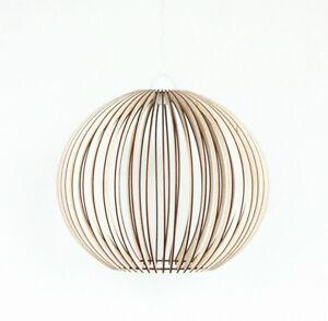 Moderne Grand Fixation Plafond Bois Abat Jour Abat Jour Lampe