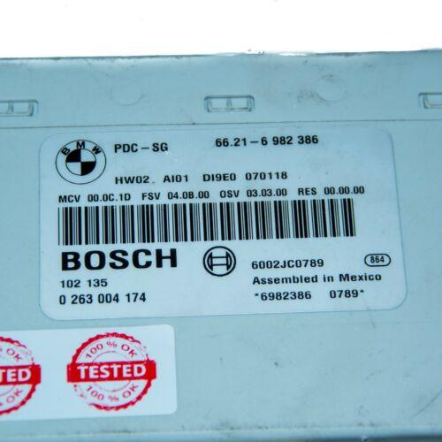 Steuergerät PDC Parksensor Einparkhilfe BMW 66.21-6982386 6982386 0263004174 BMW