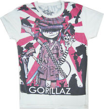 New Gorillaz Japanese Sun Demon Days Rock Band T-shirt size L. (JJ4)