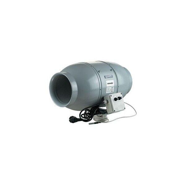 Aspiratore Insonorizzato bluberg Iso-Mix - 15Cm (550 M3 H) - Con Termostato