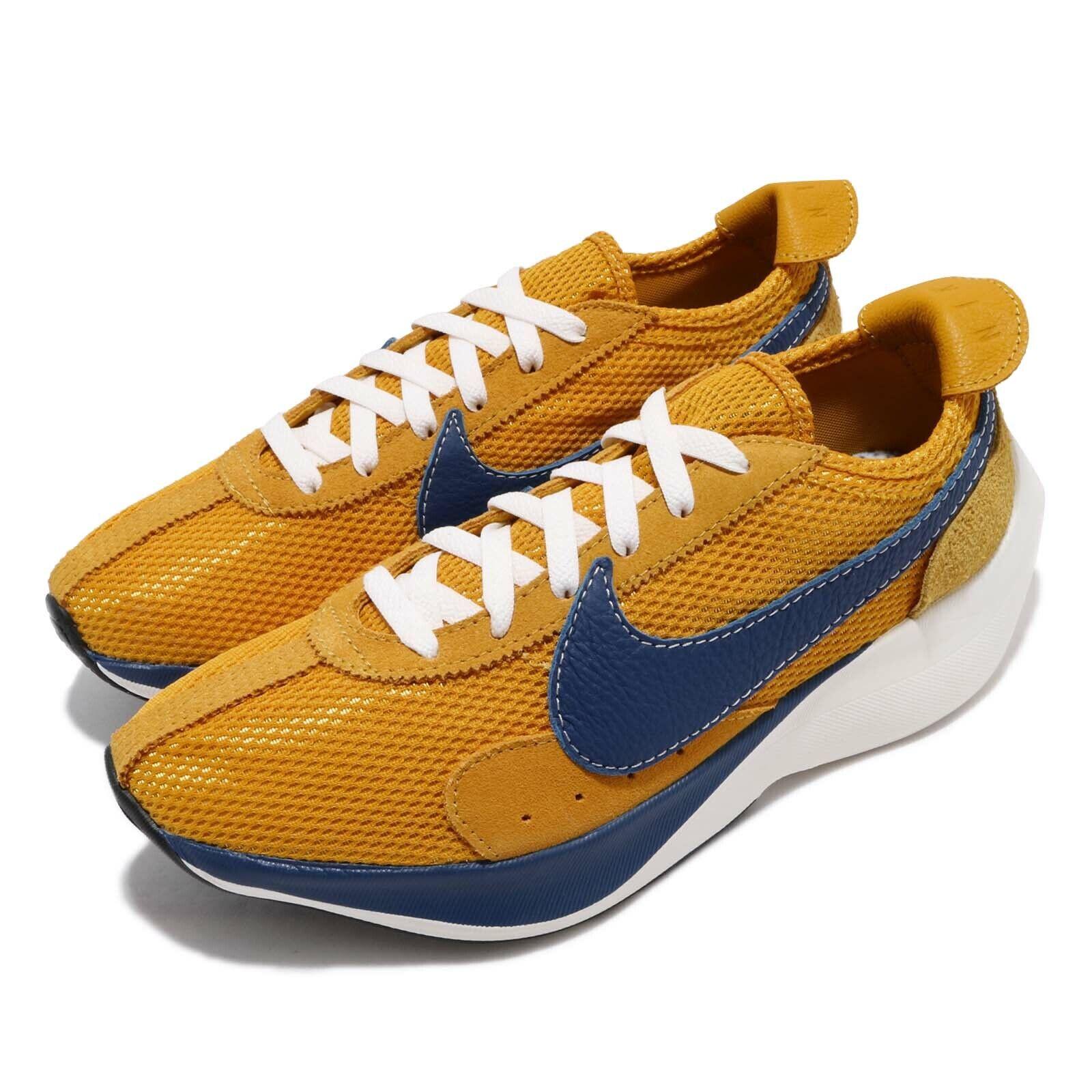 Nike Moon Racer QS gul Ochre Gym blå Män Löpning skor skor BV779 -700