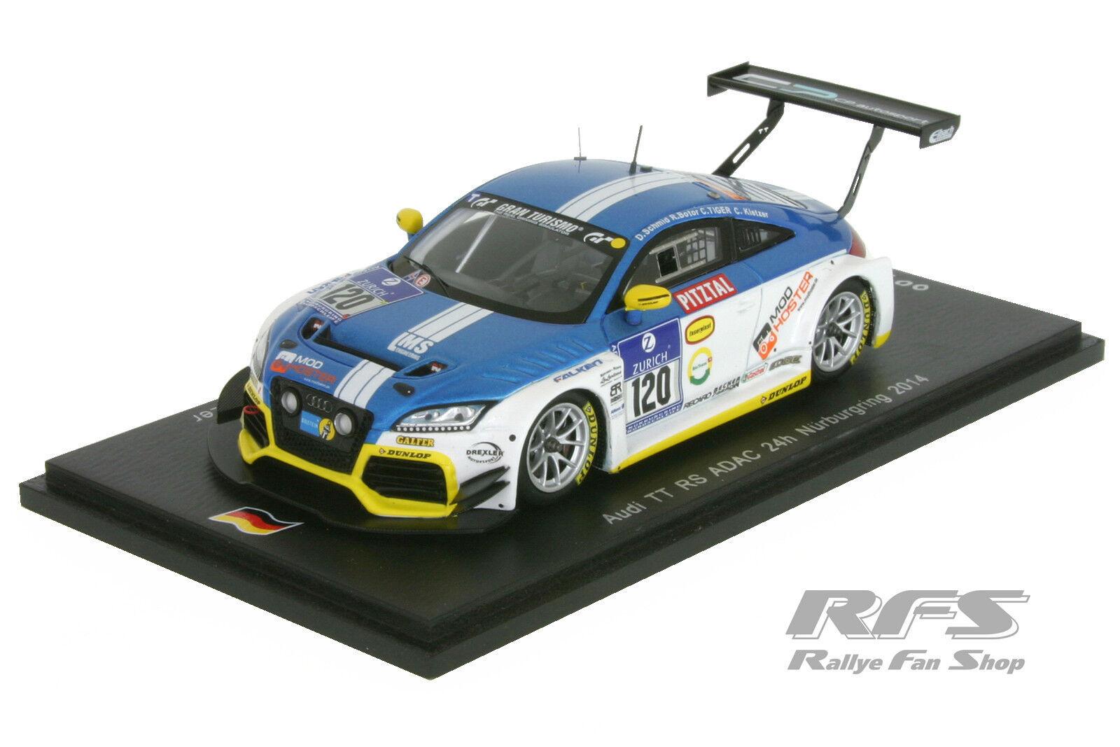 envio rapido a ti Audi tt rs-Team LMS Engineering - 24h ADAC nurburgring 2014 2014 2014 1 43 Spark sg140  calidad de primera clase