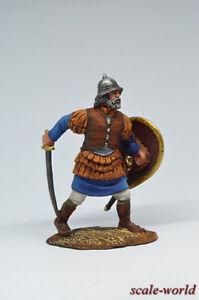 Tin-soldier-figure-Byzantine-infantryman-13th-century-54-mm