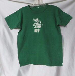 Vintage Tshirt 50s Gym PE Sport Cotton St Marys Rockabilly Dragon School Shirt