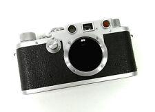Leitz Leica IIIf Black Dial Film Camera Body