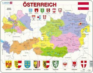 Larsen Puzzle Osterreich Politische Karte Wiener Bezirke 70