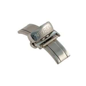 NIVREL-Faltschliese-Doppelfaltschliese-Edelstahl-Armbandschliese-16-mm
